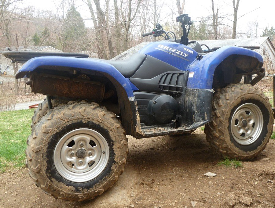 My 2004 Yamaha Grizzly