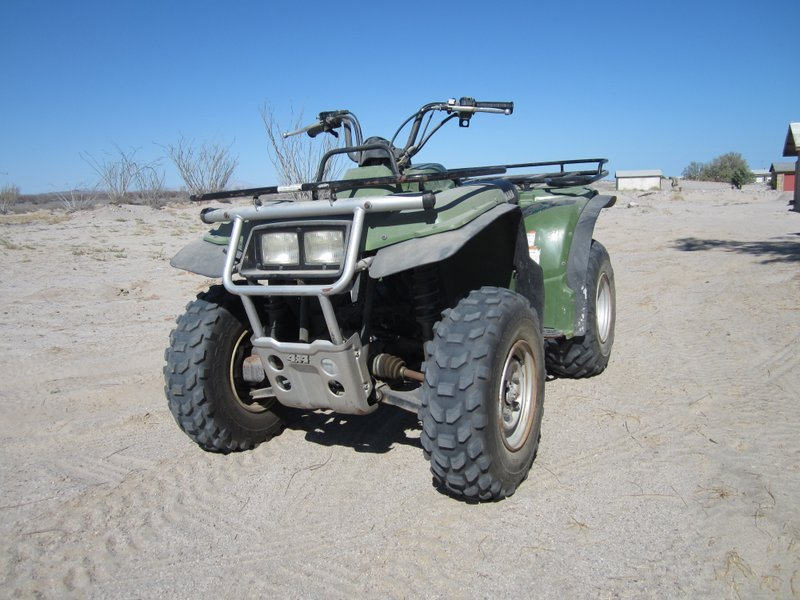 Spence Yamaha Quad front view