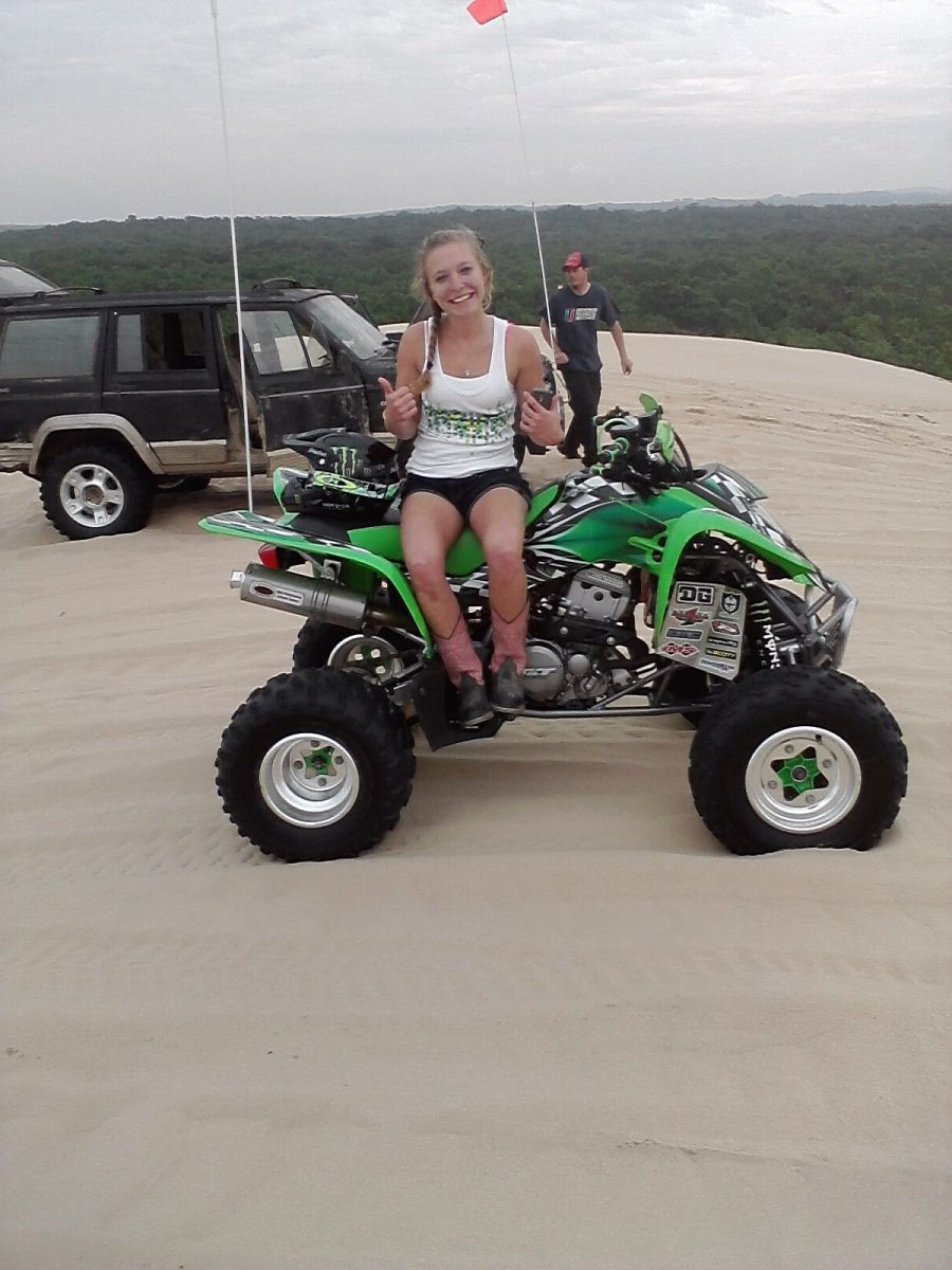 On top of the dunes!